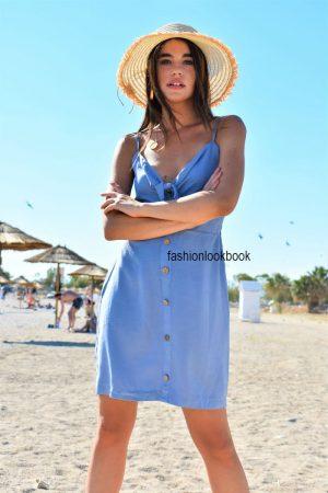 Mini Φόρεμα με Φιόγκο